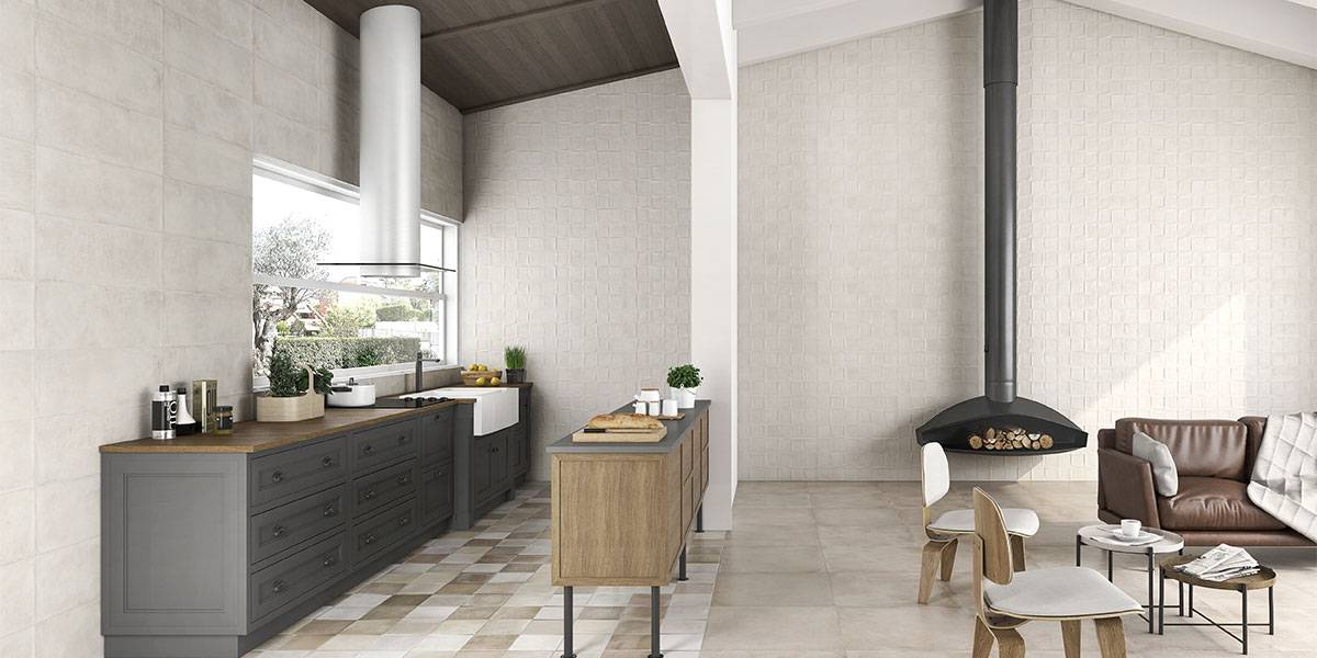 Dressing Up Living Spaces With Ceramic Tiles Keraben Group