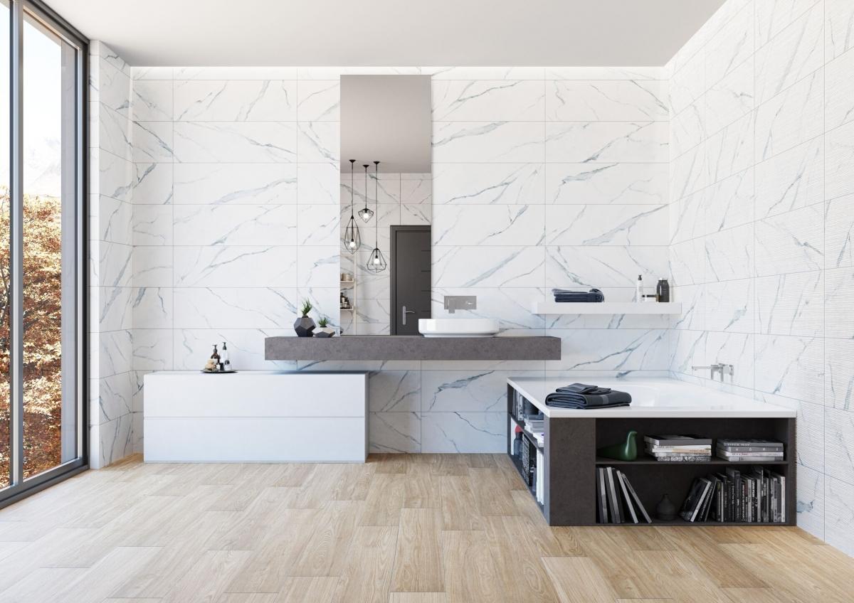 Drei Badezimmer, die Sie von einer Renovierung träumen lassen