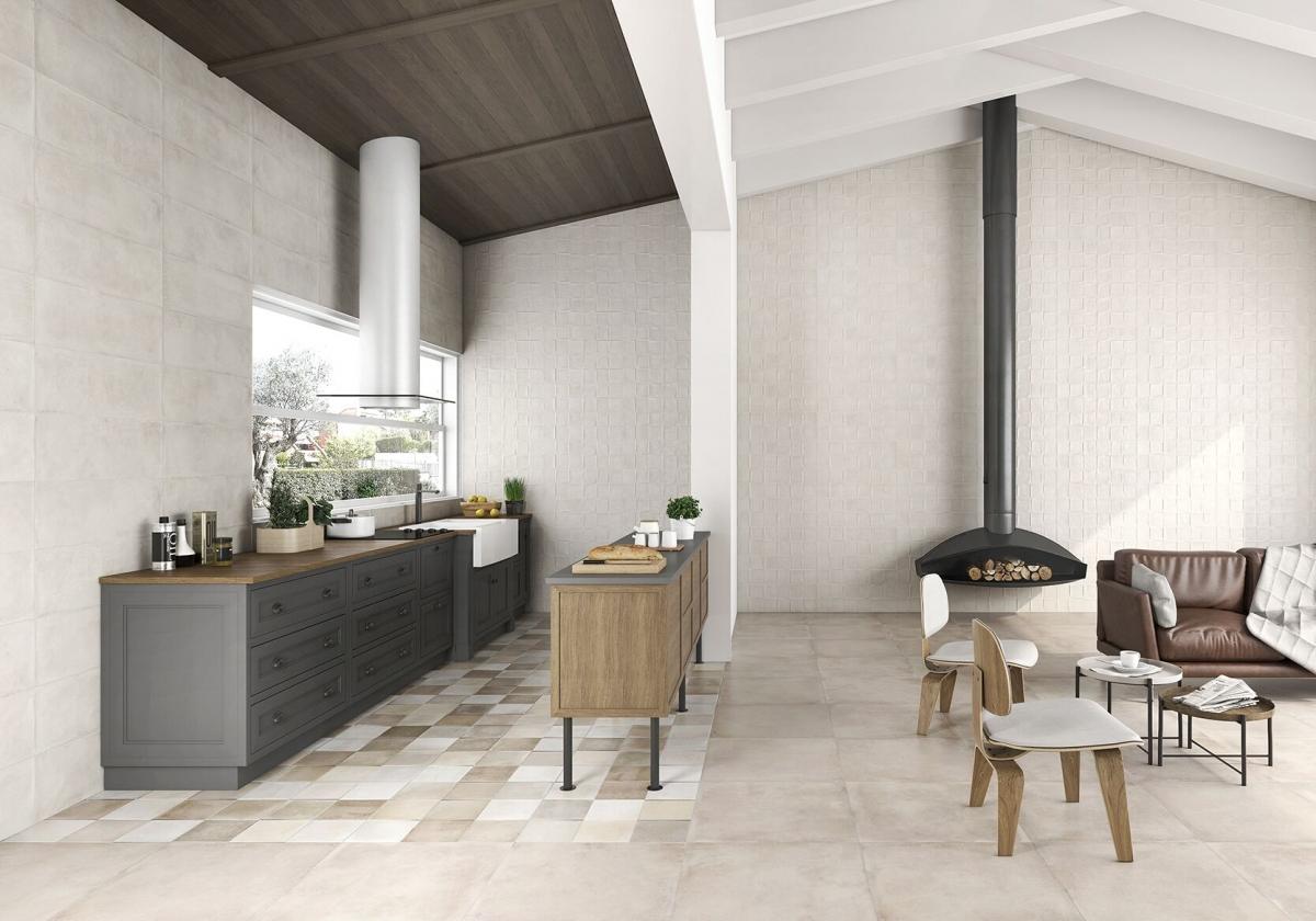 Suelos para una cocina abierta qu combina mejor en un - Mejor suelo cocina ...